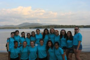 Me with my WyldLife girls at Saranac Village Young Life Camp in Upstate New York
